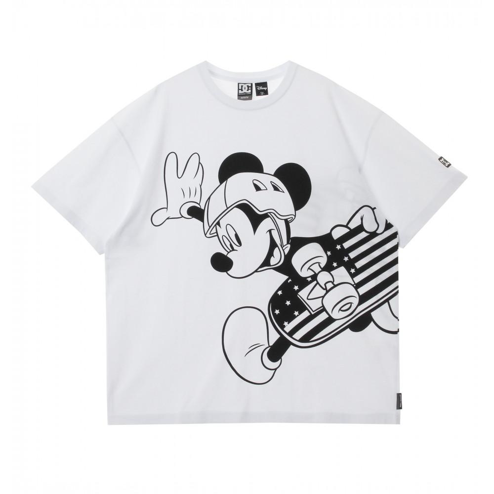 ディズニー メンズ Tシャツ 半袖 ワイドシルエット 20 DISNEY BIG MICKEY SS