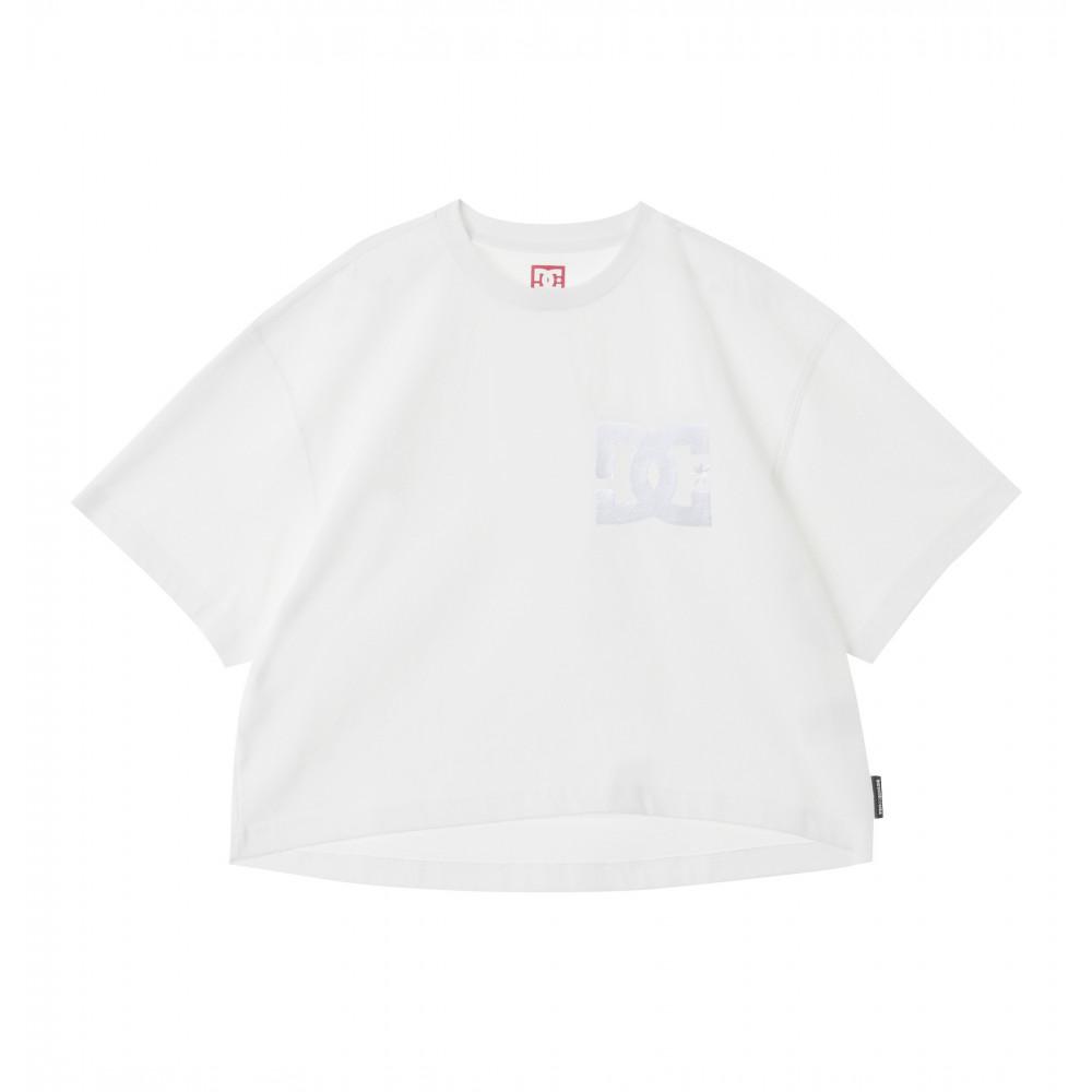 ウィメンズ Tシャツ 半袖 ワイドシルエット 20 WS EMB SS