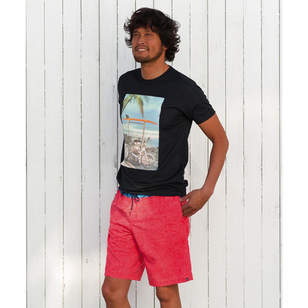 フォトグラフィック速乾サーフTシャツ