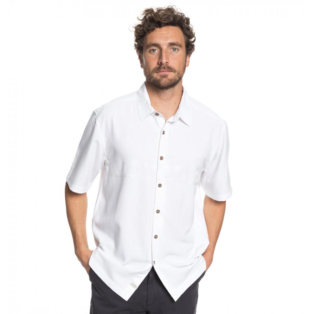 メンズ / Waterman 刺繍 半袖シャツ