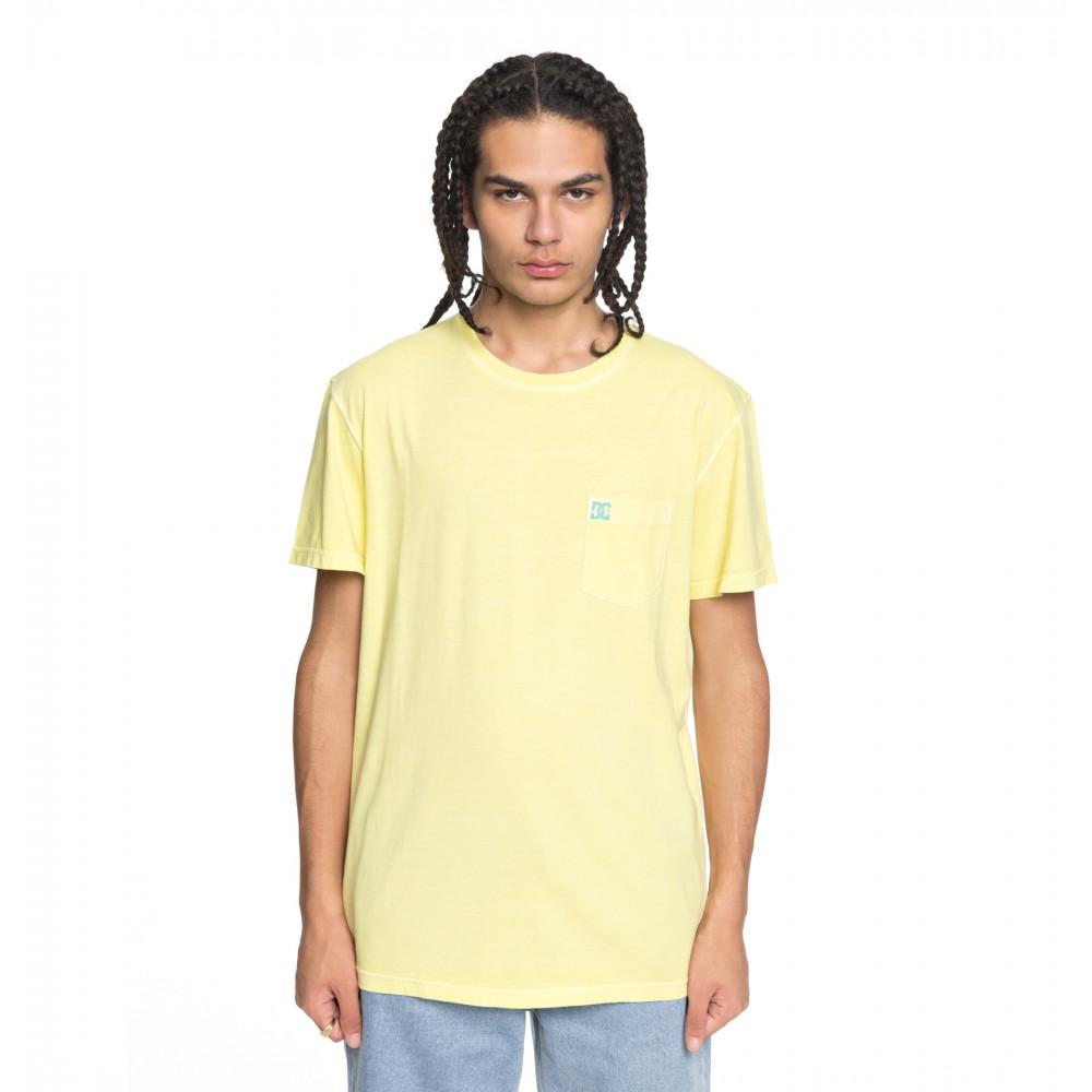 ロゴTシャツ DYED POCKET CREW