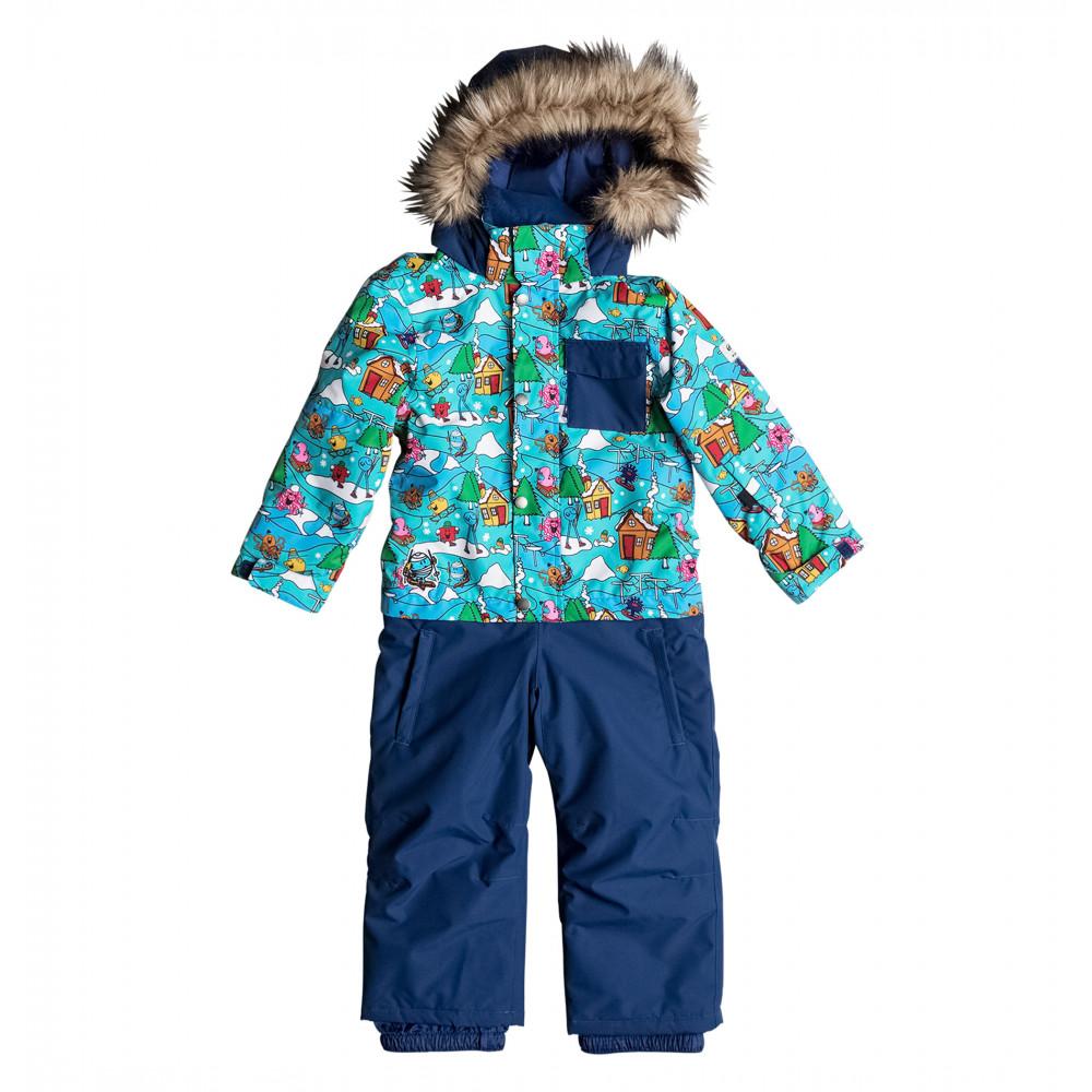 キッズ 10K スノージャンプスーツ(サイズ調節機能つき 100-120CM)