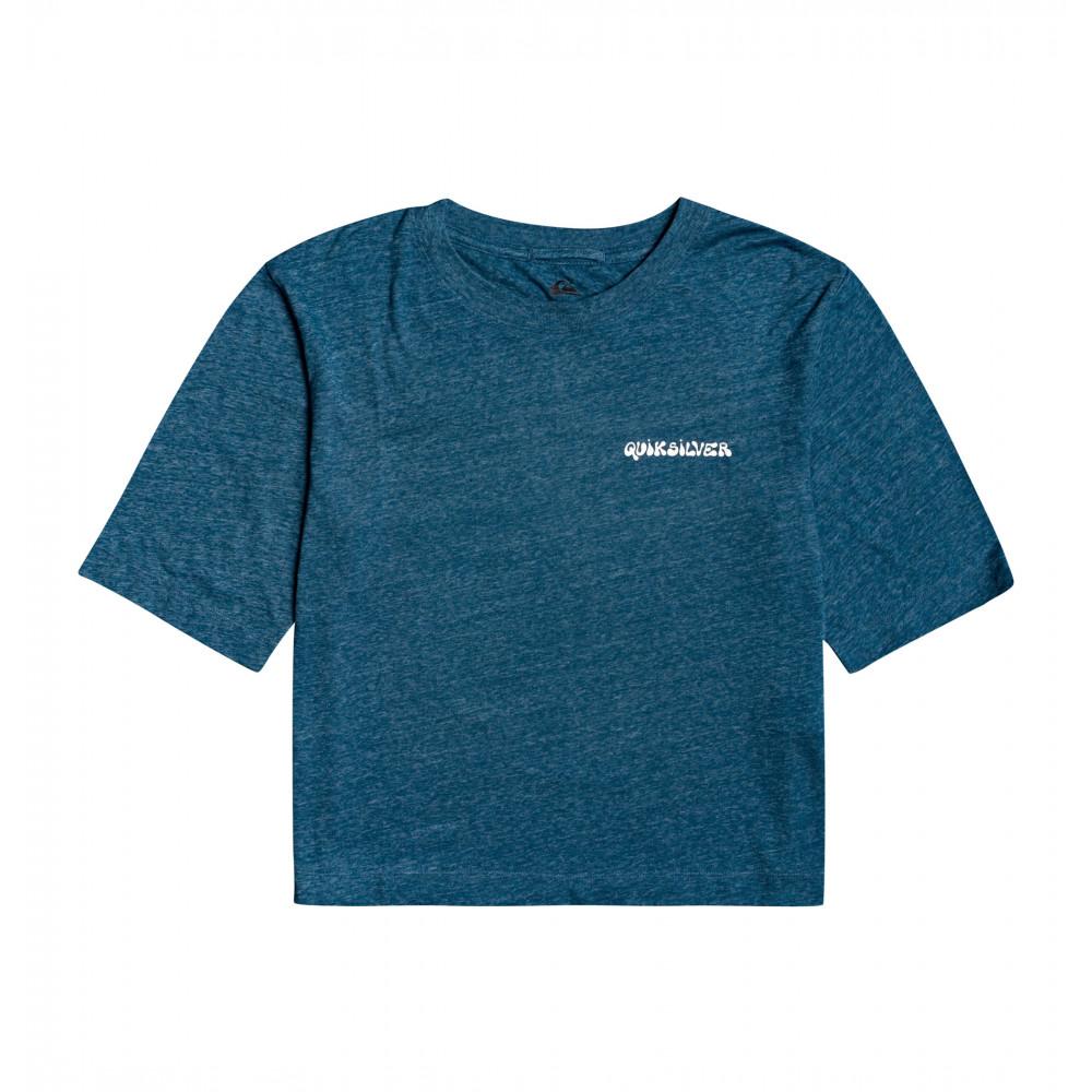 ウィメンズ Tシャツ バックプリント Loose Fit ORIGINALS FLUID MID SLEEVE