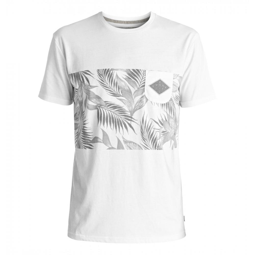 ボタニカル柄ポケットTシャツ