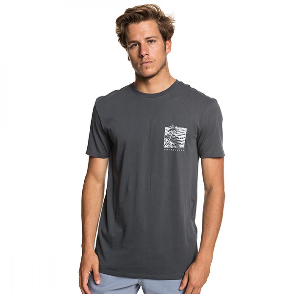 オーガニックコットン バックプリント Tシャツ GLIMPSE OF PARADISE SS