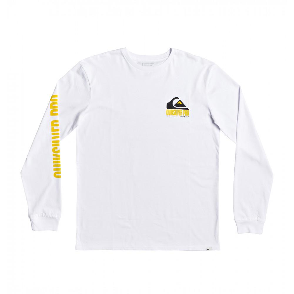 【Quiksilver Pro ゴールドコースト2019】 長袖 Tシャツ QS PRO GOLD COAST 2019 LS TEE