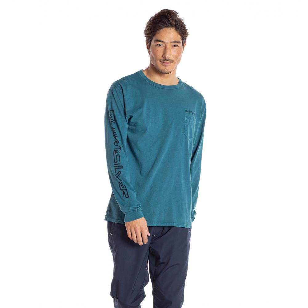 COASTAL WASH LS メンズ Tシャツ