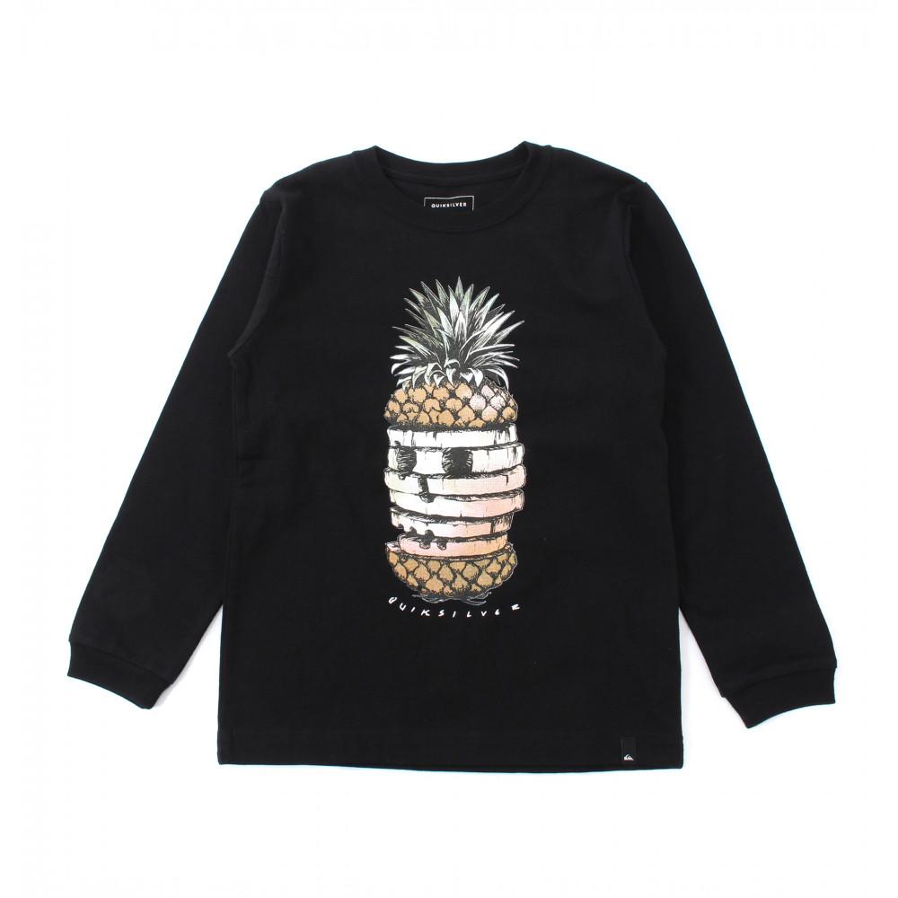 ユース/キッズ ロングスリーブグラフィックTシャツ (100-160CM)