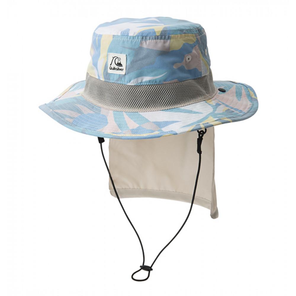 ボーイズ UPF50+ パッカブル サーフハット キッズ BOY UV WATER CAMP HAT