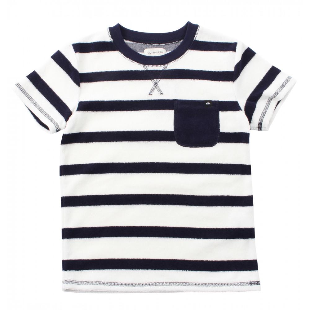 キッズ / ユース パイル地ボーダーTシャツ(100 - 150)