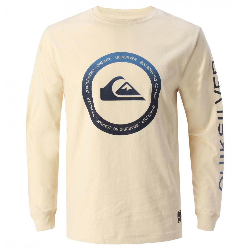メンズ / 長袖ロゴプリント Tシャツ