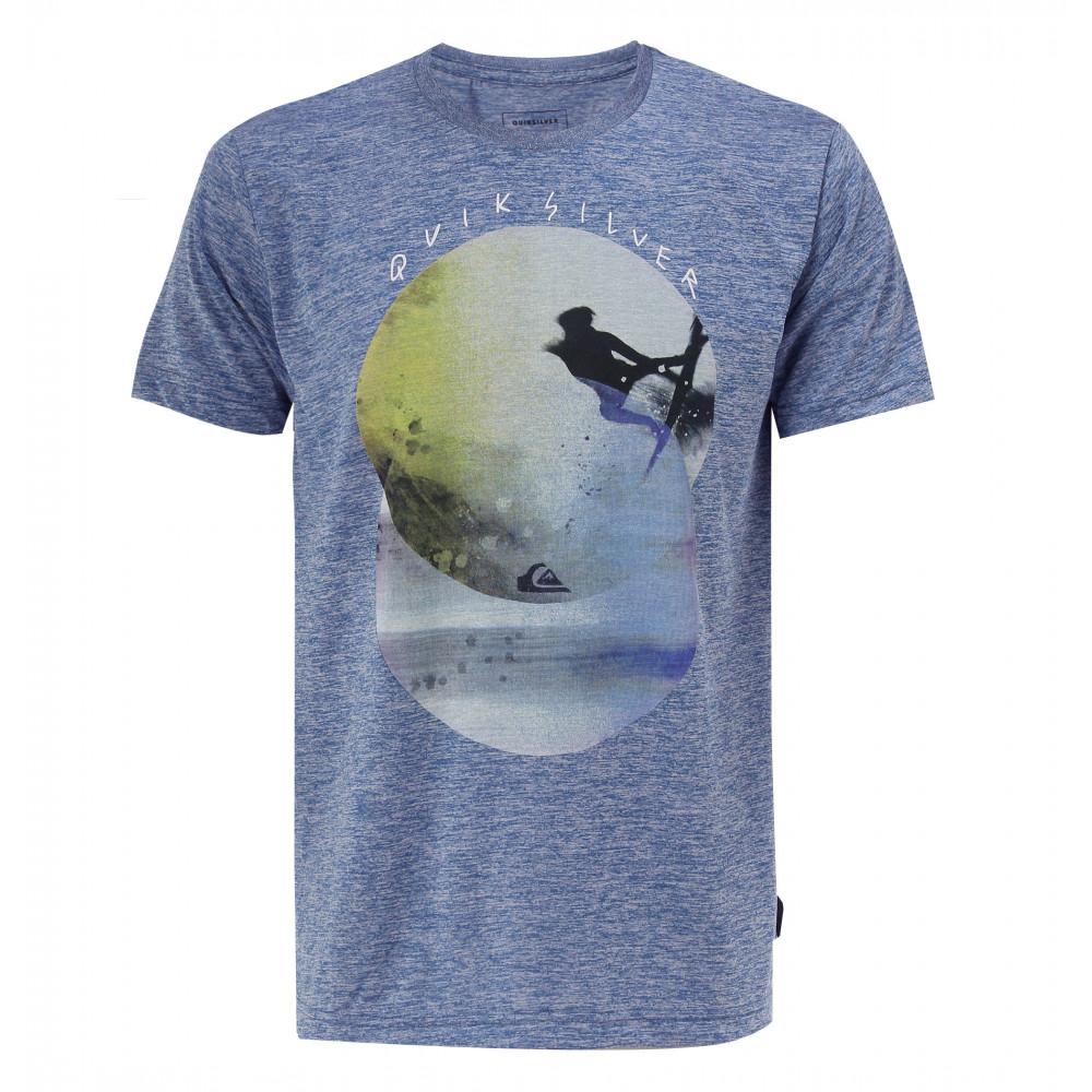 サークルプリント速乾サーフTシャツ