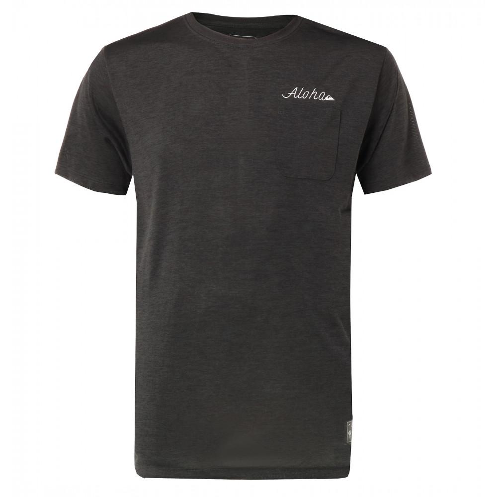 メンズ / UPF30 バックプリント サーフTシャツ