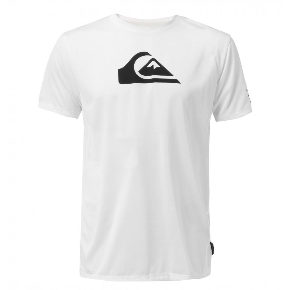 メンズ / UPF30+ ロゴプリント サーフTシャツ