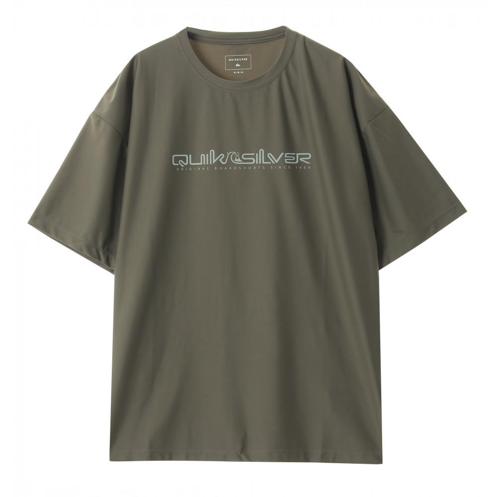 接触冷感 UVカット UPF50+ ラッシュガード Tシャツ 半袖 Relax Fit HB STONE AGE ROMEO SS