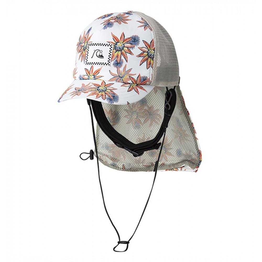 UPF50+ パッカブル サーフキャップ UV WATER MESH CAP PRT