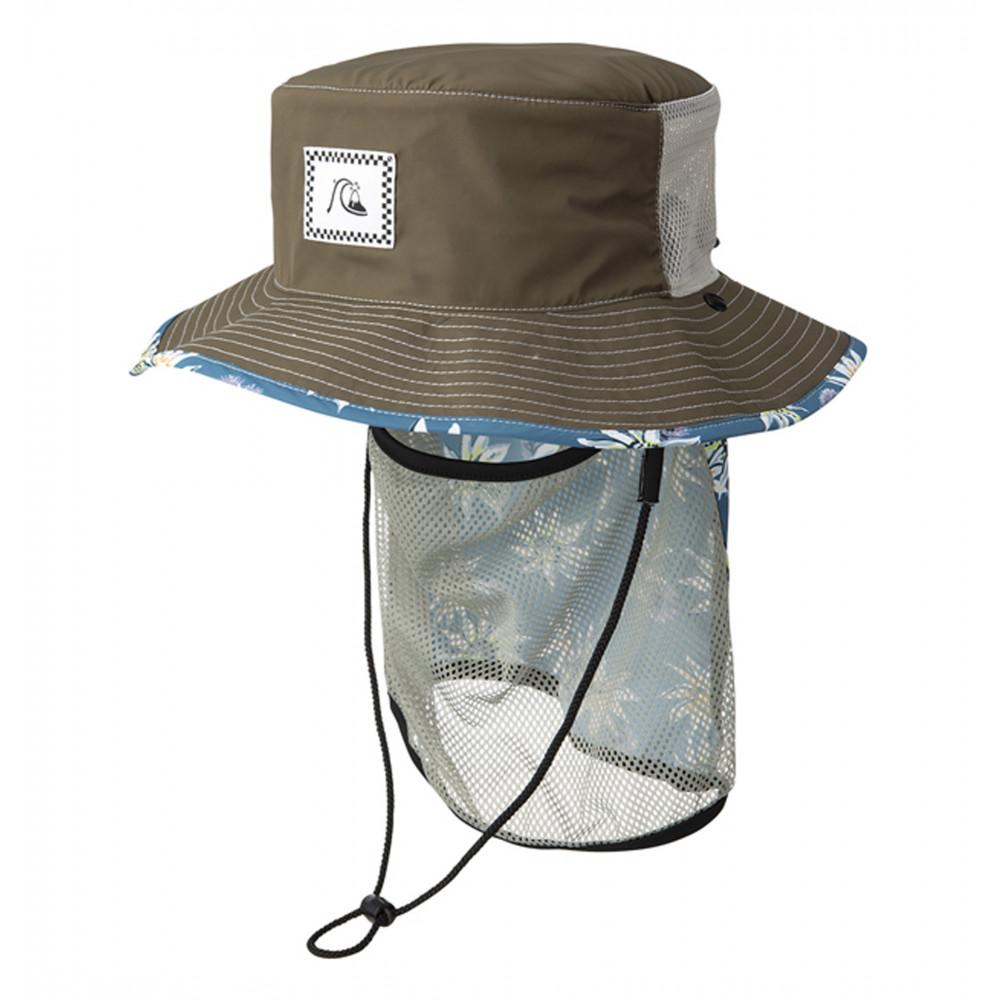 UPF50+ ネックガード付き サーフハット UV WATER SUP HAT