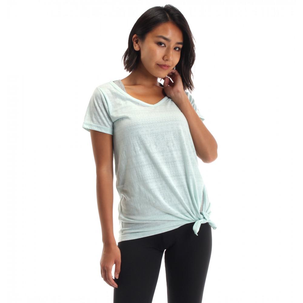 オパールプリントTシャツ×ブラカップ付きタンクセット