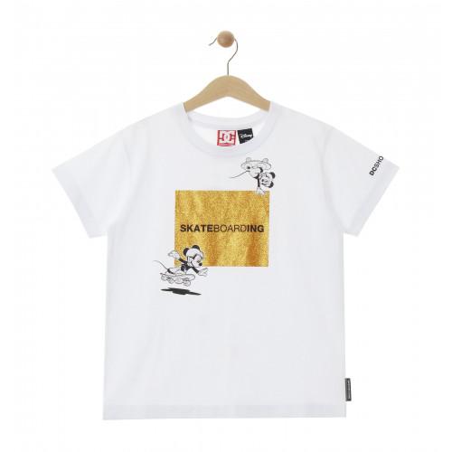 ディズニー ミッキー キッズ 100-160cm Tシャツ 半袖 ワイドシルエット 20 KD DISNEY SQUARE SS