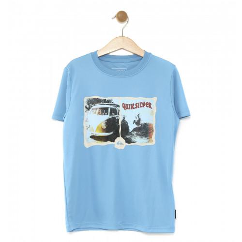キッズ UPF50+ ラッシュ Tシャツ MORNING SESSION SS KIDS  (100-160)