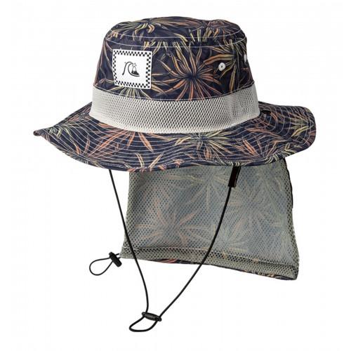 キッズ UPF50+ パッカブル サーフハット BOY UV WATER HAT PRT