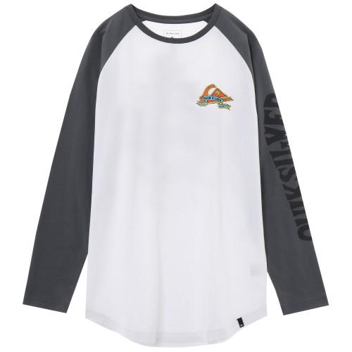 バックプリント 長袖 Tシャツ TATTERED LT