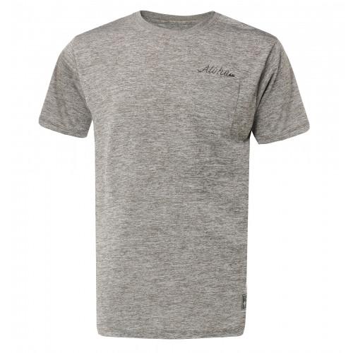 メンズ / UPF30+ バックプリント サーフTシャツ