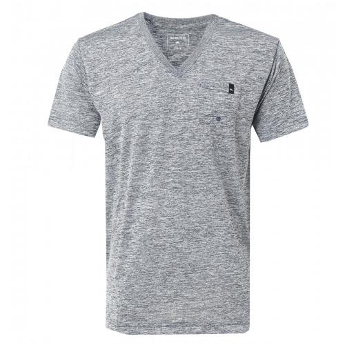 メンズ / UPF30+ Vネック サーフTシャツ