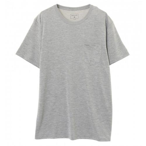 UPF30+ 制菌機能 ラッシュ Tシャツ QP PELHAM CREW SS
