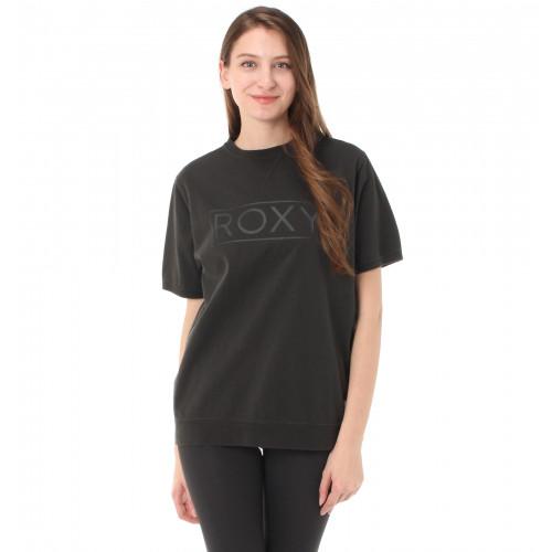 スウェット風 ロゴプリント Tシャツ