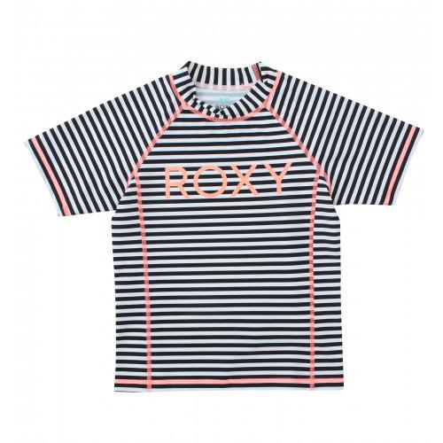 キッズ / ガール UVカット半袖ロゴラッシュガード (100 - 150)