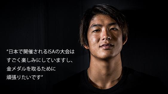 KANOA × ISAWORLD SURFING GAMES 2018 日本代表としての決意。