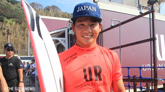 大原洋人1位通過。「ISAワールドサーフィンゲームス」コンテスト開始 by THE SURF NEWS