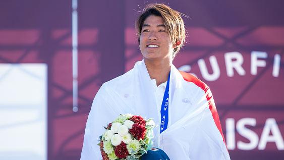【速報】五十嵐カノアがサーフィン日本代表出場権を獲得!